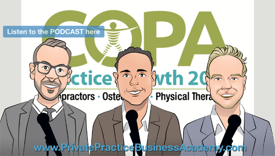 Practice Growth @ The COPA March 4th-5th in NYC