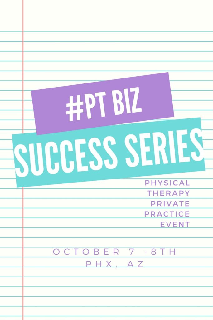 Click Here to Attend The #1 Event for PT Practice Owners