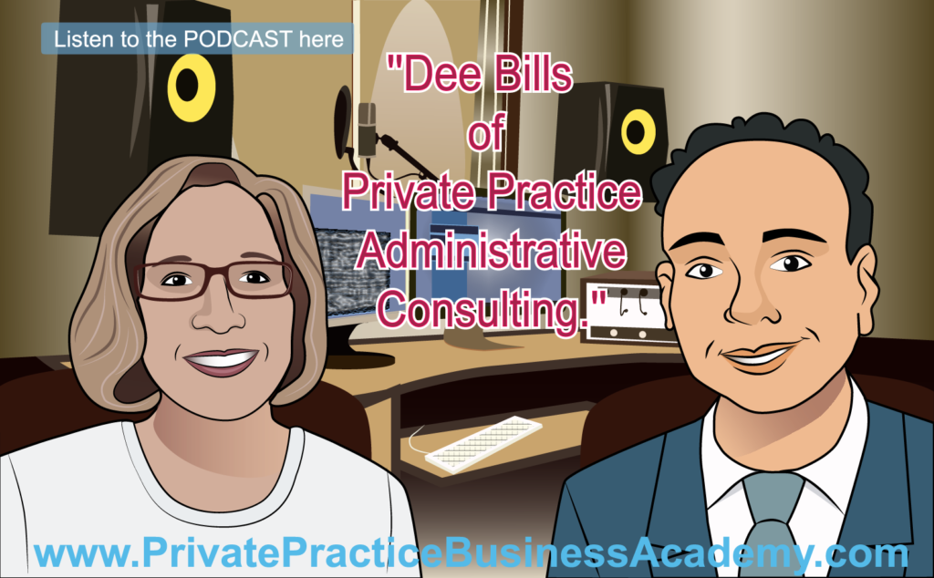 Dee Bills of Private Practice Administrative Consulting